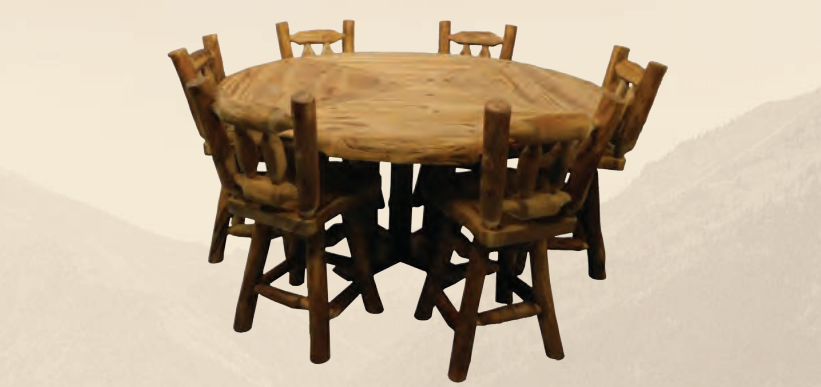 Puritan Pine Classic Log Furniture